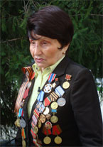 снайпер Лидия Ефимовна Бакиева ( 43 армия, 3-й Белорусский фронт)