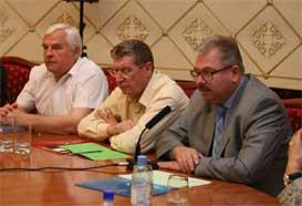 Выступление зам.председателя Белорусского культурного центра С.Сазонова