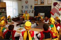 Класс в школе национального возрождения Павлодара