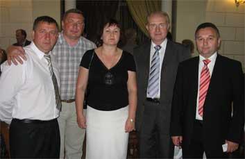 Василий Иванович Гапеев с гостями из Беларуси