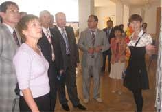 На выставке казахстанских изданий о Беларуси