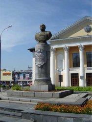 Памятник Герою Советского Союза И.И.Гусаковскому